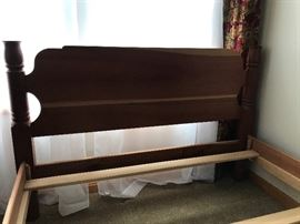 Hand made cherry full size bed