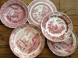 Large collection of Spode china.