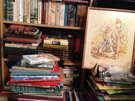 Hundreds of children's books from a long time collector.