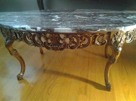 The coffee table $500