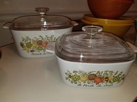 Circa 1970 covered Corning Ware