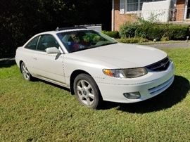 Toyota Camry Solara 184,000 Moon Roof, 6 disc CD Changer, Cassette, Leather, V6, clean  Call Glenn to arrange an appointment to see the car prior to Friday's Sale 865 556 2262
