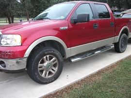 2007 Ford F150 4x4 Pick Up