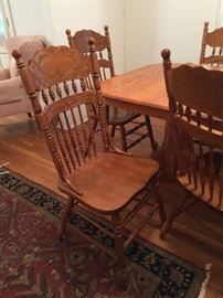 Deals-of-the-Day: Golden Oak side chair, there are 12 of these!!