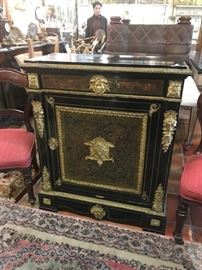 Late 19th C.Boulle  bookcase   New in the shop