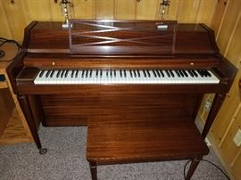 Piano $250 you must bring your own help