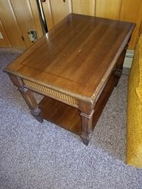 Vintage End Tables 2 Matching Has A Drawer Light Wear $25 each