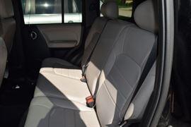 Backseat Seating of 2005 Jeep Liberty SUV