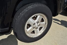 Tires on 2005 Jeep LIberty SUV