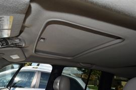Storage in Overhead of 2005 Jeep Liberty SUV
