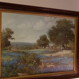 bluebonnet painting