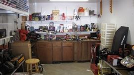 Garage packed with quality hand / power tools.