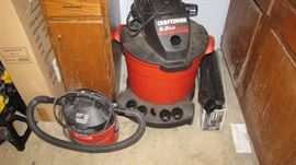 More shop vac's, large and small.