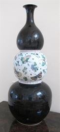 Chinese triple gourd vase