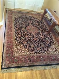 Hand-Knotted 100% Wool Oriental Rug #2