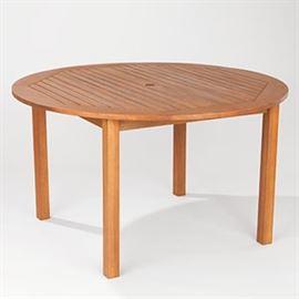 WM Round wooden table