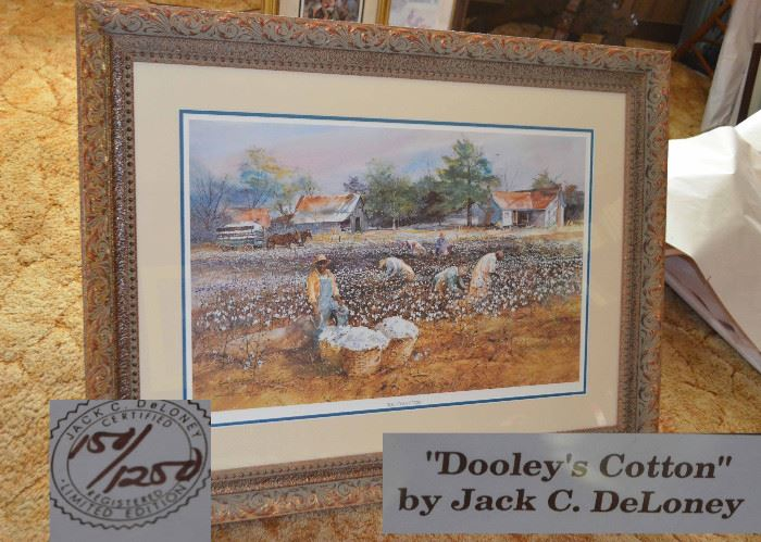 "Jack C. DeLoney ""Dooley's Cotton"" limited edition"