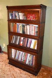Oak barrister's bookcase
