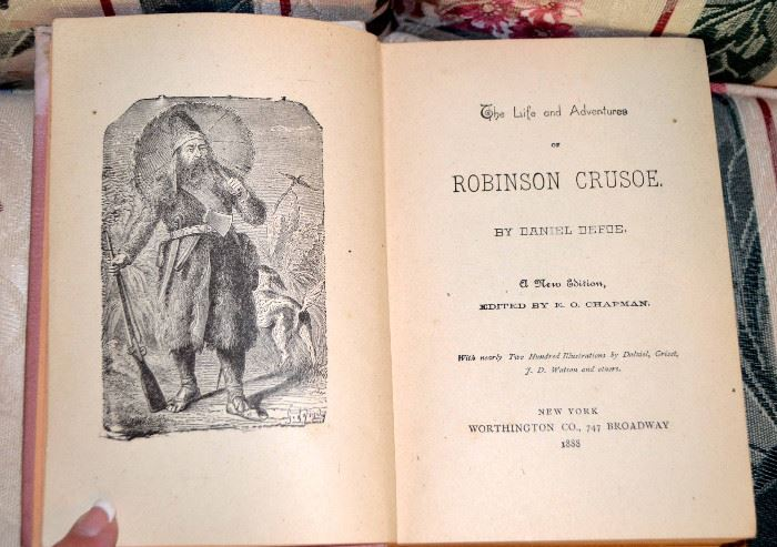 The Life and Adventures of Robinson Crusoe, 1888