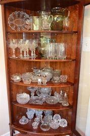 beautiful crystal & glassware