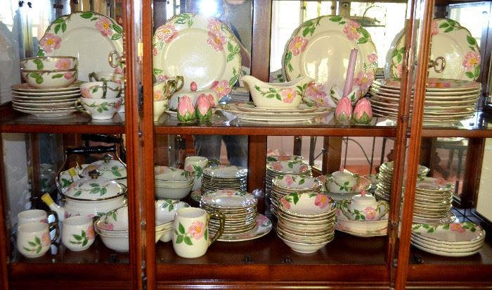 "Franciscan ""Desert Rose"" china.  Selling by the piece so come add to your collection!"