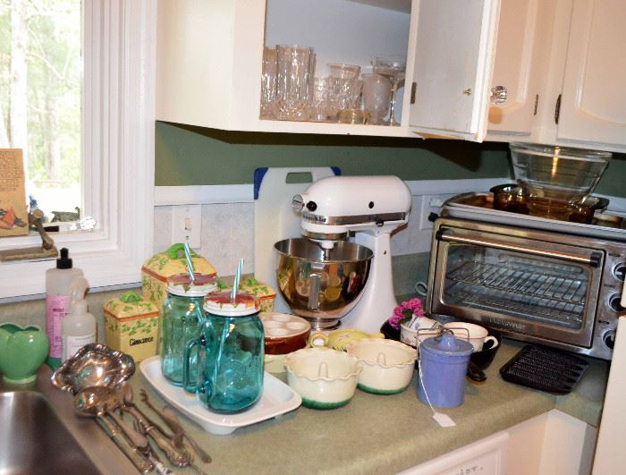 Kitchenaid Mixer; convection oven