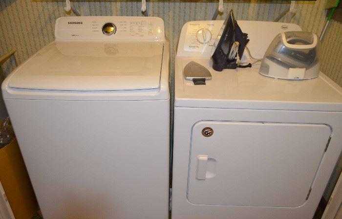 Samsung Washer & Roper Dryer