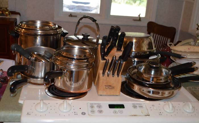Revereware & other quality cookware