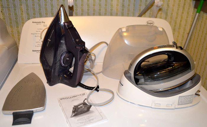 Rowenta & Panasonic irons
