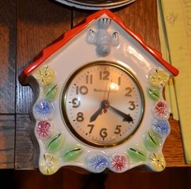 Sessions Mastercrafters kitchen clock
