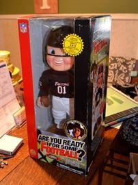 "Atlanta Falcons NFL Rockin' Randall sings Hank Williams' ""Are You Ready for Some Football"""