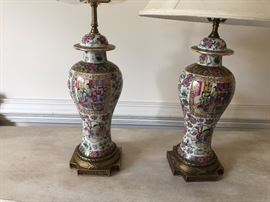 PR OF ORIENTAL LAMPS