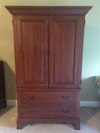 Bob Timberlake entertainment armoire/linen press.