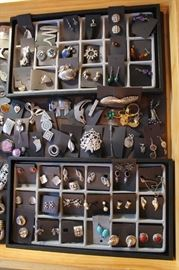Sterling silver jewelry from vintage to newer, all $30.00 or less per piece after the 50% off discount!