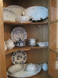 china & corner cabinet