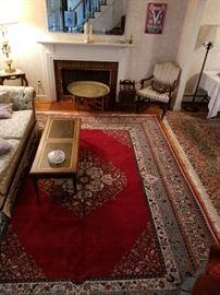 Living room...oriental rugs