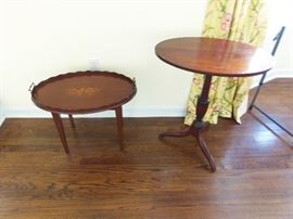 Several side tables