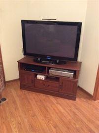 """42"""" Samsung flatscreen & TV stand"""
