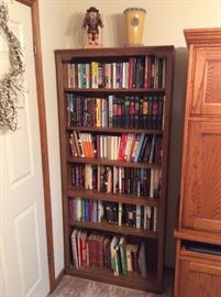 Book Case & books