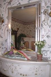 ORNATE VENETIAN  GLASS MIRROR