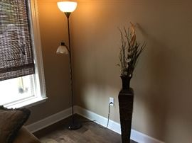 Lamp & planter