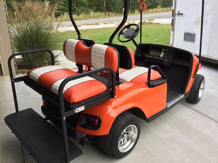 EZ-Go custom built golf cart