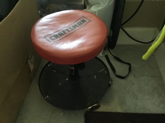 Craftsman rolling stool