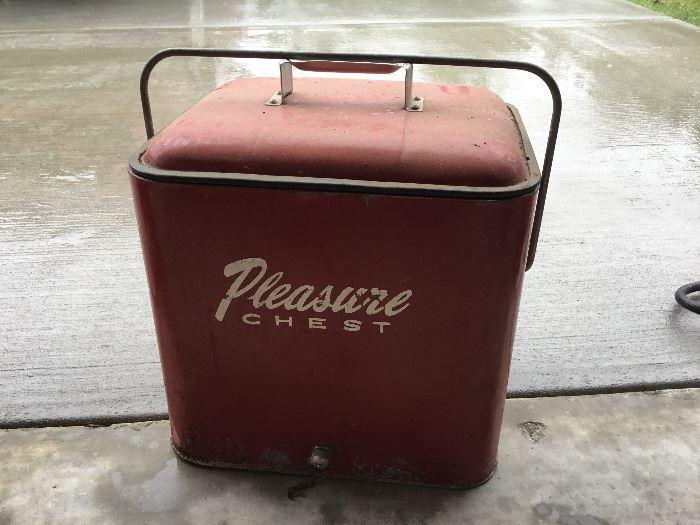 Vintage pleasure chest