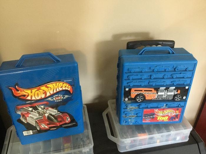 Hot Wheels cases