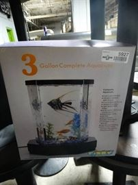 3 gallon complete aquarium kit new in box