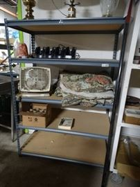 5 shelf metal shelving unit