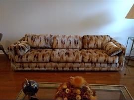 "Mid Century Sofa over 100"" wide"