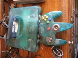 2 Nintendo 64 consoles, 2 controllers and 2 gam ...