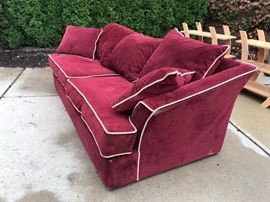 Very comfortable and clean. Two minor tears.    $75